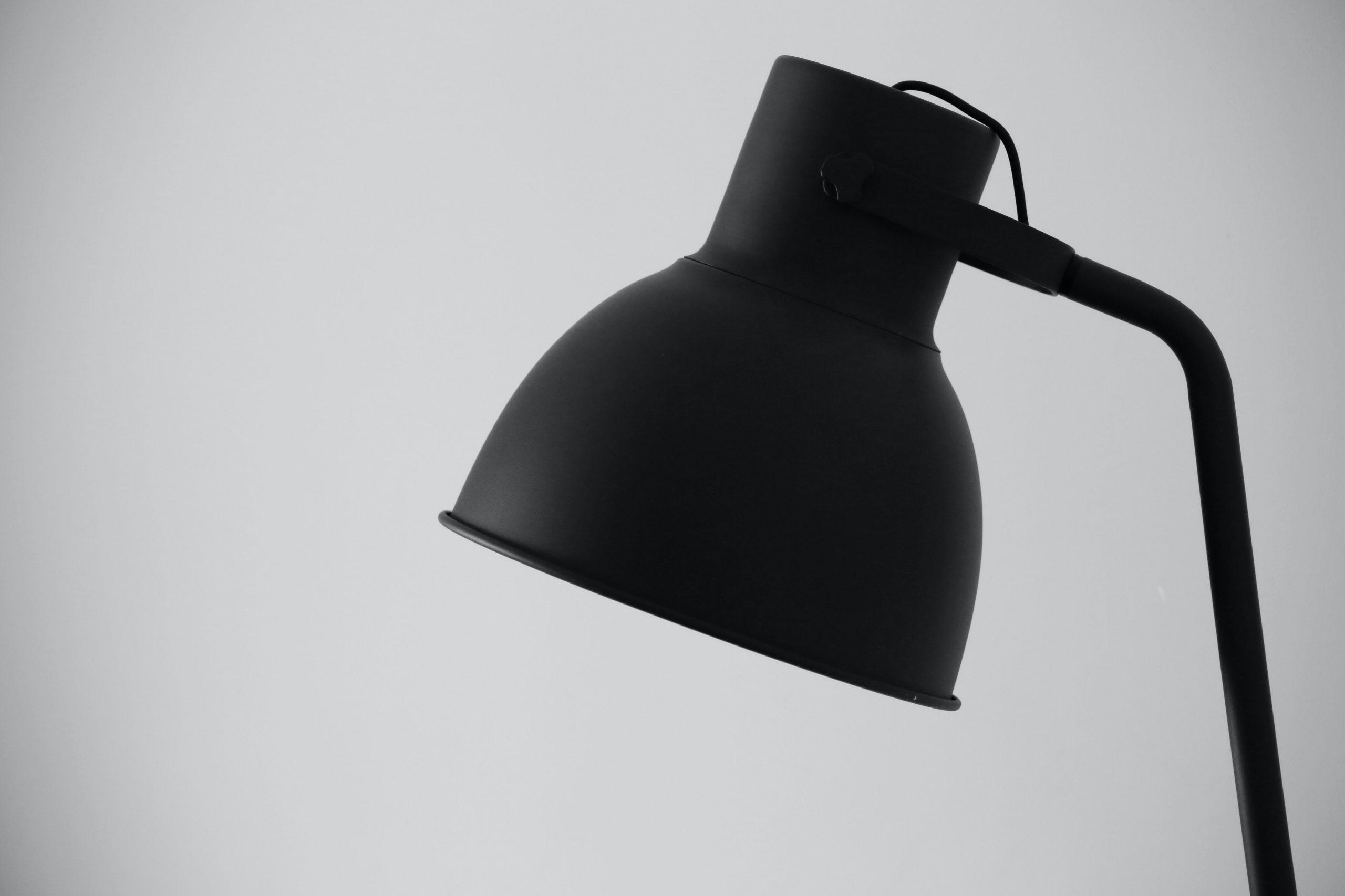 Black Modern Lamp