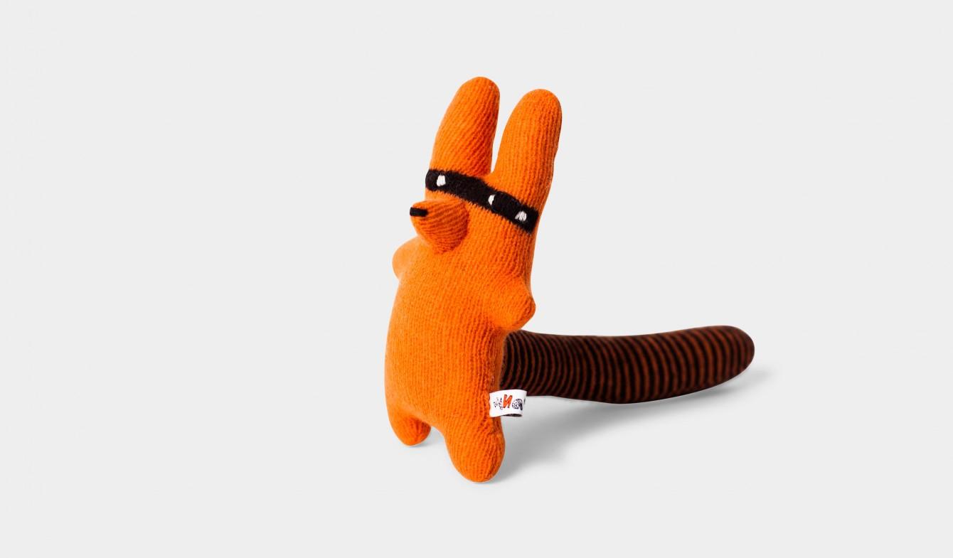 Orange Fox Plush