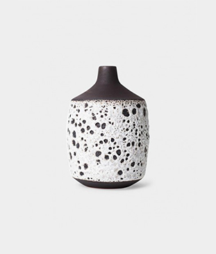 White Clay Vase