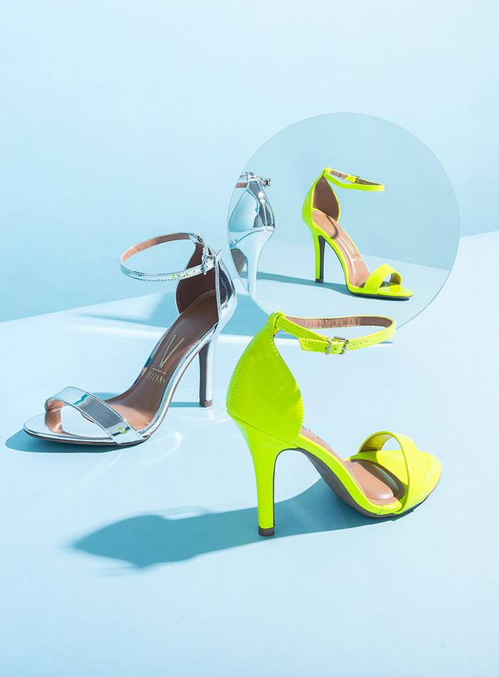 Creamy Heels
