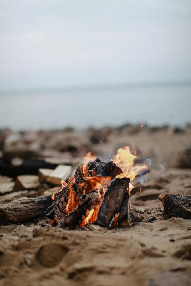 Seaside Campfire