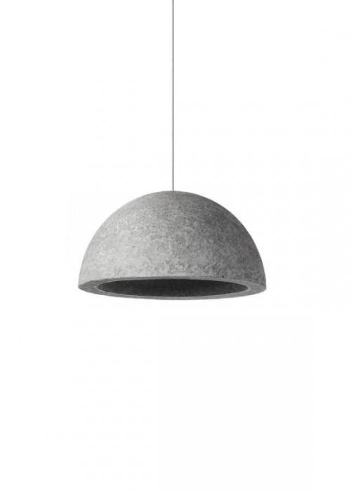 Concrete Minimalistic Lamp
