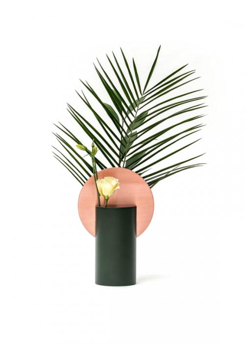 Pink Sun Vase