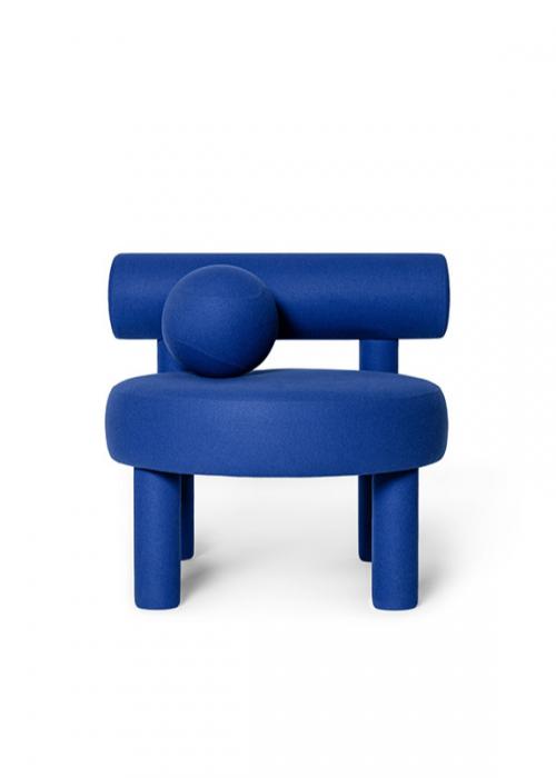 Blue Minimalistic Chair