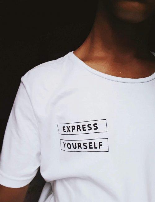 White Retro T-shirt